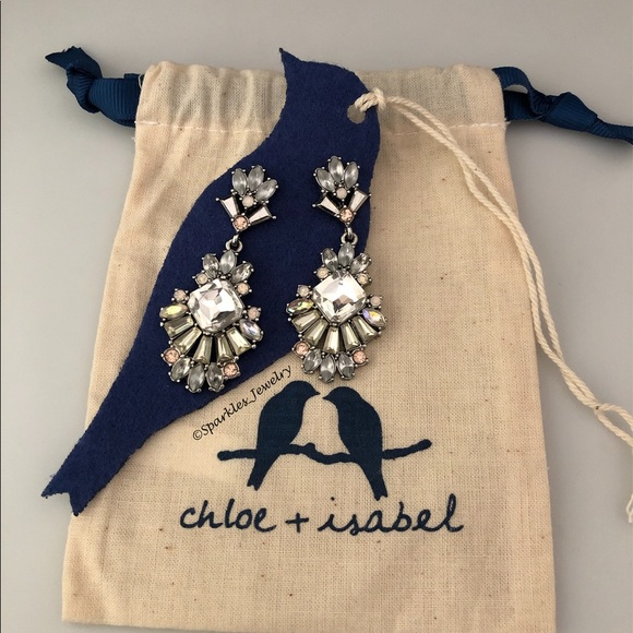 Chloe + Isabel Jewelry - Chloe + Isabel Celestial Frost Post Drop Earrings.